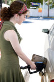 Filling the Tank Royalty Free Stock Photography