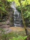 Fillmore Glen State Park Waterfall stockbild
