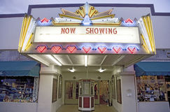 Fillmore Towne Theater. In continuous use since 1916, Fillmore, California Stock Photo