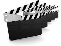 Filmów Clappers Obraz Royalty Free