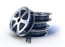 filmów filmu cewy sterta ilustracji