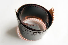 Film. Photo film on white background Royalty Free Stock Image