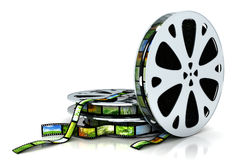 Film. With images - 3D render Royalty Free Stock Photos