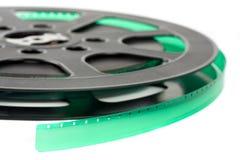 film 16 mig millimeter-rulle Arkivbild