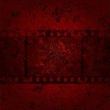 Film. Damaged tape on messy  background. Eps10 Stock Photos