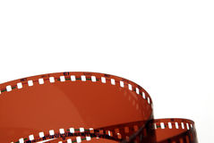 Film. Cinema in white background Royalty Free Stock Image