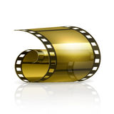 Film. Icon illustration on white Royalty Free Stock Image