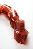 Film. On a white background Stock Photo