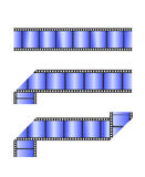 Film. Roll illustration isolated on white Stock Image