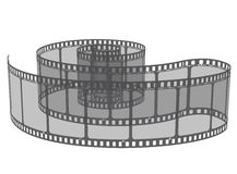 Film. Vector illustration of film - isolated Royalty Free Stock Images