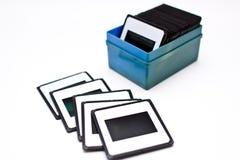 Film 35mm de glissières Images libres de droits