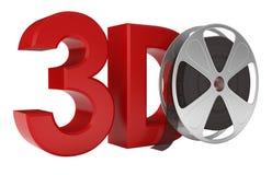 Film 3d Lizenzfreie Stockbilder