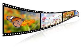 film 3D Photographie stock