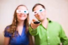 Film 3D de observation Photos libres de droits
