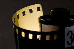 Film. Roll of Film, close Royalty Free Stock Photo
