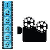 film stock illustrationer