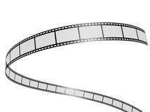 Film. 3d rendered illustration of film stripes Stock Images