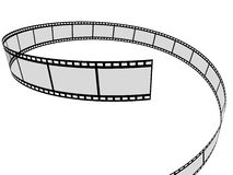 Film. 3d rendered illustration of a film strip Royalty Free Stock Images