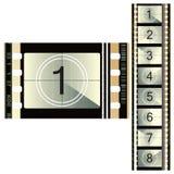 Film 70mm van de kleur. Royalty-vrije Stock Afbeeldingen