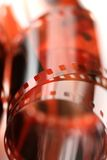 Film. Close up of celluloid film Royalty Free Stock Photo