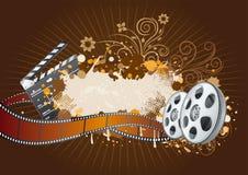 film achtergrondthema vector illustratie