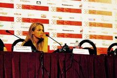 Film actress Aglaya Shilovskaya Stock Image