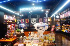 Shenzhen, China: film, animation, game, modeling, collection, shop interior landscape
