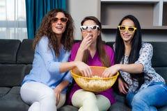 Film avec les filles Images libres de droits