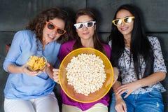 Film avec les filles Photos libres de droits