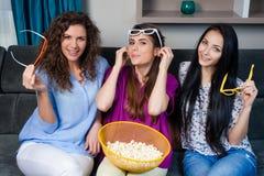 Film avec les filles Photographie stock libre de droits