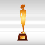 Film award design. Illustration eps10 graphic Stock Images