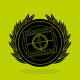 Film award design. Illustration eps10 graphic Stock Photos