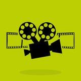 Film award design. Illustration eps10 graphic Royalty Free Stock Image