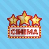 Film award design. Illustration eps10 graphic Stock Photography