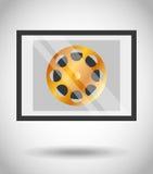 Film award  design. Illustration eps10 graphic Stock Photo