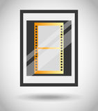 Film award  design. Illustration eps10 graphic Royalty Free Stock Photo