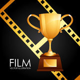 Film award Royalty Free Stock Photos