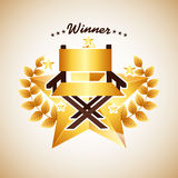 Film award. Design, vector illustration eps10 graphic Royalty Free Stock Photos