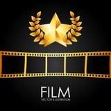 Film award vector illustration