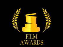 Film Awards 4 Royalty Free Stock Photography