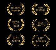 Film Awards Stock Image