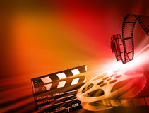 Film background. Stock Photos