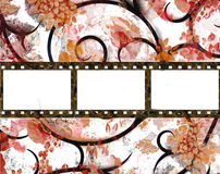 Film background. In grunge style with blank space Royalty Free Stock Photo