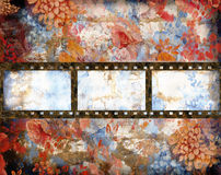 Film background. In grunge style with blank space Royalty Free Stock Image