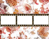 Film background. In grunge style Stock Image