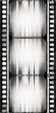Film background. Designed grunge film strip illustration Royalty Free Stock Photos