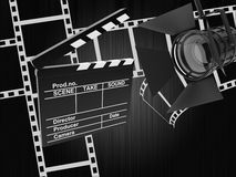 Film background Royalty Free Stock Images