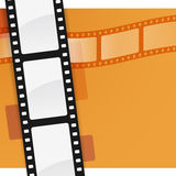 Film Background. With copy space Royalty Free Stock Image