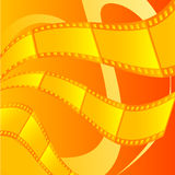 Film Background. Combination of films together become a illustration background Stock Photos