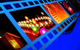 Film background Royalty Free Stock Photo